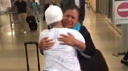 14enne malata di leucemia riabbraccia la madre dopo essere state separate al confine