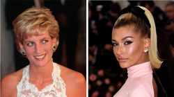 Hailey Bieber Channels Princess Diana In Nostalgic Photo