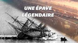 L'épave mythique d'un bateau vieux de 200 ans retrouvée en