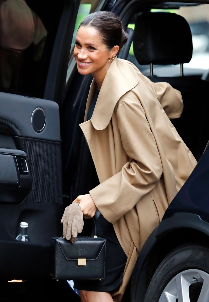 Meghan, Duchess of Sussex visits Smart Works on January 10, 2019 in London, England.