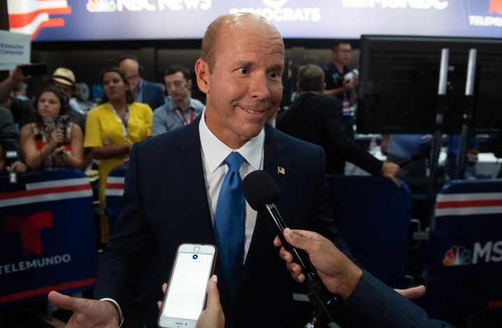 Former Rep. John Delaney (D-Md.) dropped out of the 2020 presidential race.