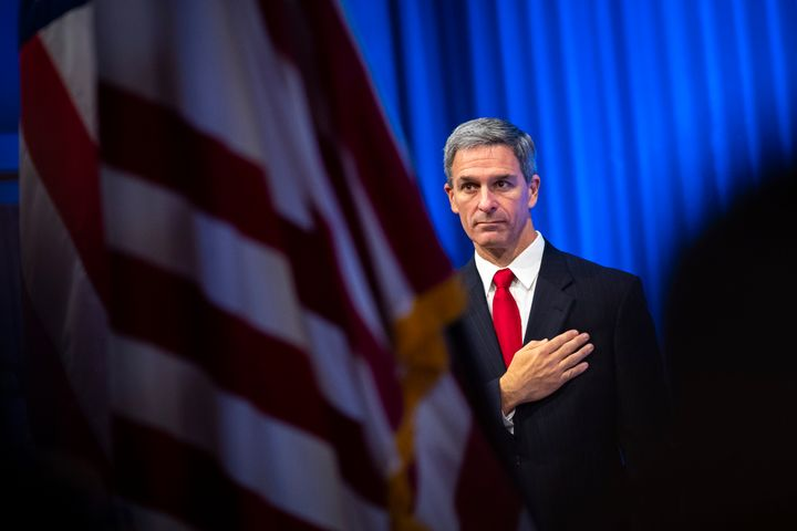 Acting Director of the U.S. Citizenship and Immigration Services (USCIS) Ken Cuccinelli leads the agency that handles natural