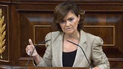 El dardo de Carmen Calvo a Arrimadas: