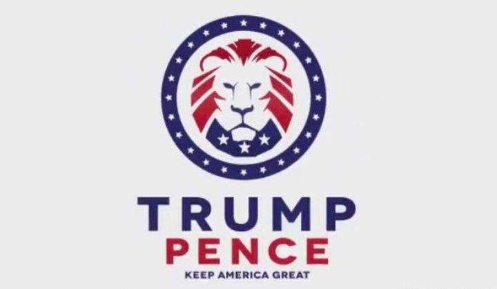 The lion logo linked to white nationalists appears in an independently produced video tweeted by Trump.