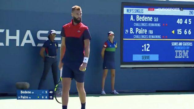 Benoît Paire a perdu ce jeudi 29 août au 2e tour de l'US Open face à Aljaz