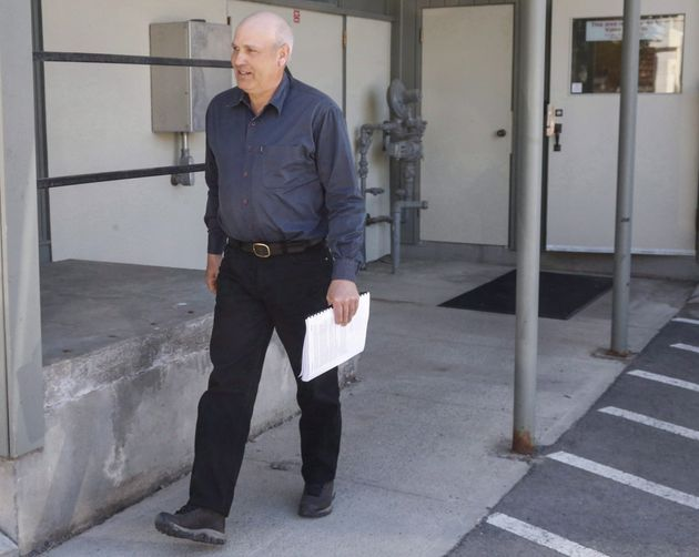 James Oler, who was found guilty of practising polygamy in a fundamentalist religious community, leaves...