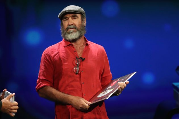 Eric Cantona Baffles Former Professionals With 'Bizarre' Speech At UCL Draw
