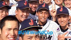 일본 청소년 야구 대표팀이 일장기 붙은 옷을 다시 입기로