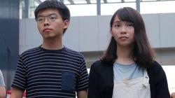 홍콩 대규모 시위가 하루 앞두고 전격