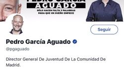 Cachondeo por lo que hizo Pedro García Aguado en su perfil de Twitter: mira bien la