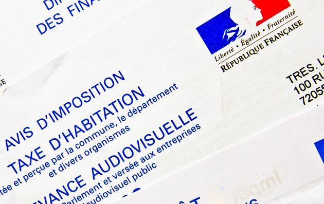 Feuilles d'impôsition de la taxe d'habitation, redevance audiovisuelle, impot sur les revenus et...