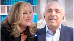Tenso enfrentamiento entre Elisa Beni y Rafael Simancas en 'Espejo Público':