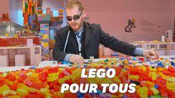 Lego teste des notices audio et en braille pour les personnes