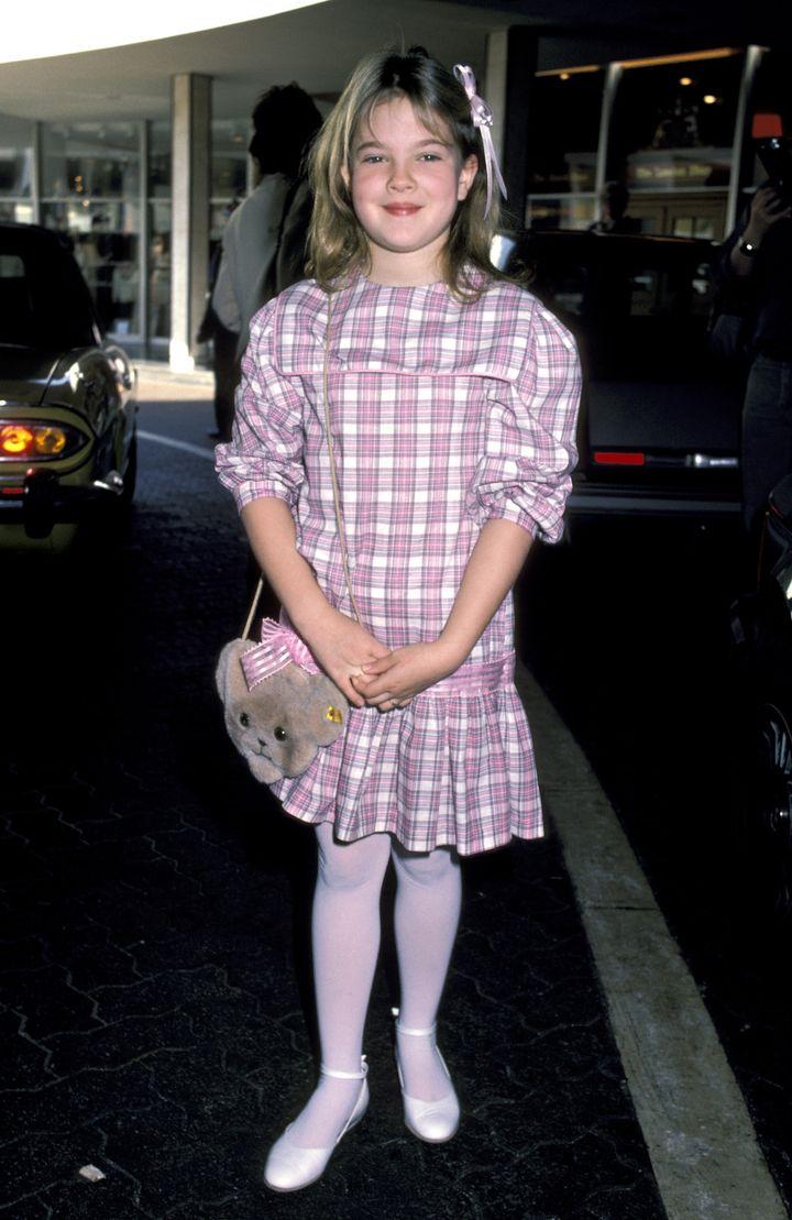 H Ντρού Μπάριμορ το 1984.