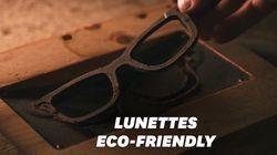 Ces lunettes de soleil sont fabriquées à partir de... marc de