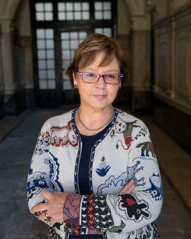 La escritora colombiana Piedad Bonnett, en Madrid, la primavera de 2019. /Fotografía de Lisbeth