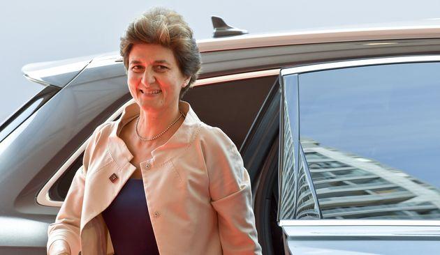 Sylvie Goulard faisait l'objet d'une enquête du Parlement européen après des soupçons...