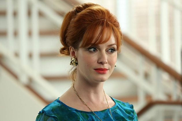Christina Hendricks como Joan Harris, na série Mad