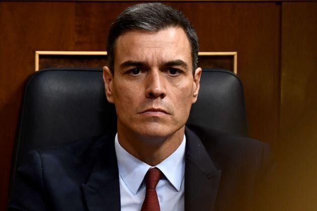 Pedro Sánchez, en el