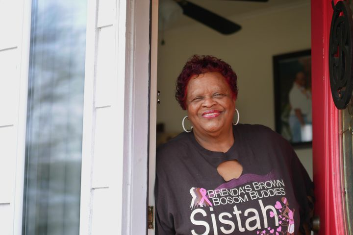 Delores Barkers has lived in this house in Harriman Park for 48 years. The year after she retired, the area was designated to
