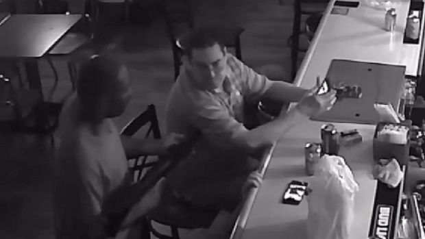 Tony Tovar deals with armed robber