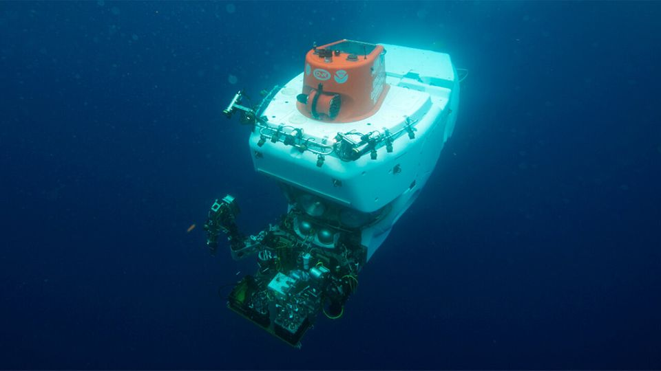 Alvin, a three-person manned submersible, has completed more than 5,000 dives since it started operating...