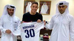 L'international marocain Abdelaziz Barrada signe au club qatari