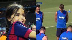 In ricordo di Xana: Il minuto di silenzio dei giocatori del Barcellona per la figlia di Luis