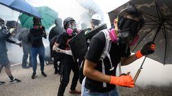 Συγκρούσεις αστυνομίας - διαδηλωτών στο Χονγκ