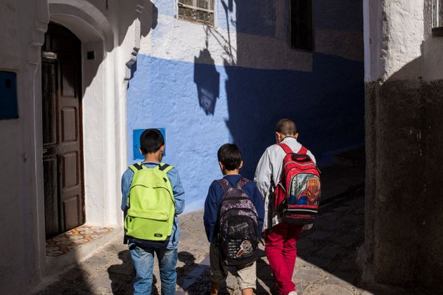 Morocco. Chefchaouen. Daily Life. (Photo by: Marka/Universal Images Group via Getty