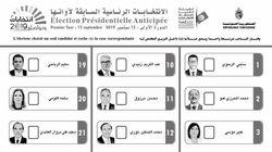 Élection présidentielle: Voici à quoi ressemblera le bulletin de