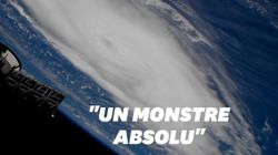 Vu de l'espace, l'ouragan Dorian est