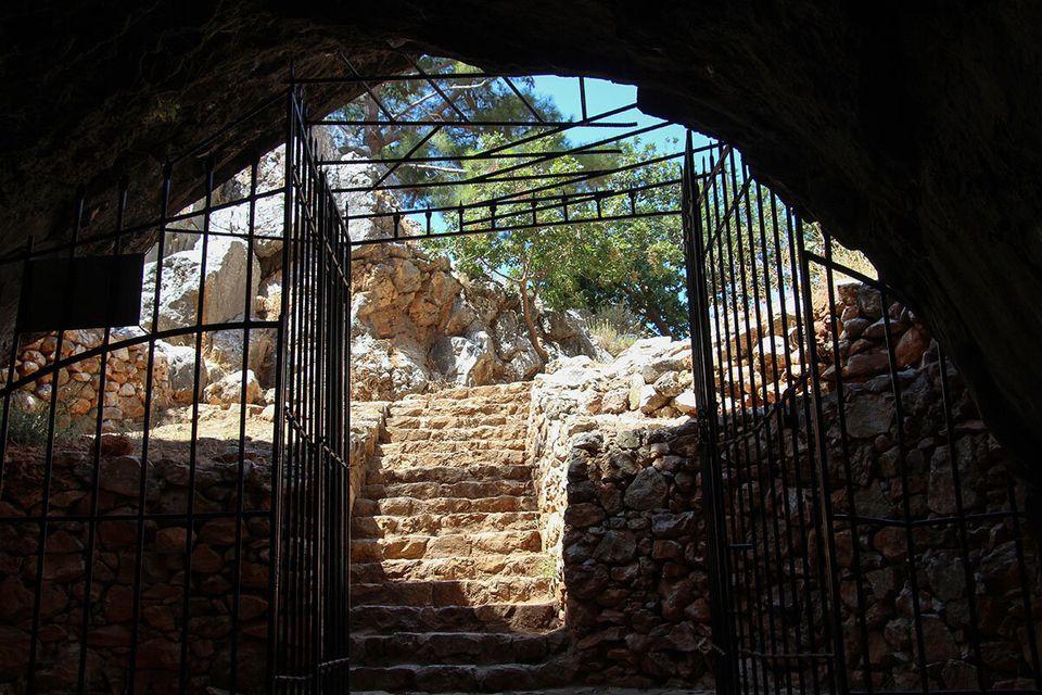 Έξοδος του σπηλαίου...