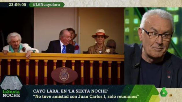 Cayo Lara en 'LaSexta