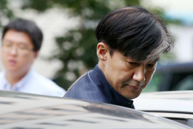 조국 법무부장관 후보자가 '인사청문회 개최 미정' 여부에 대해 한