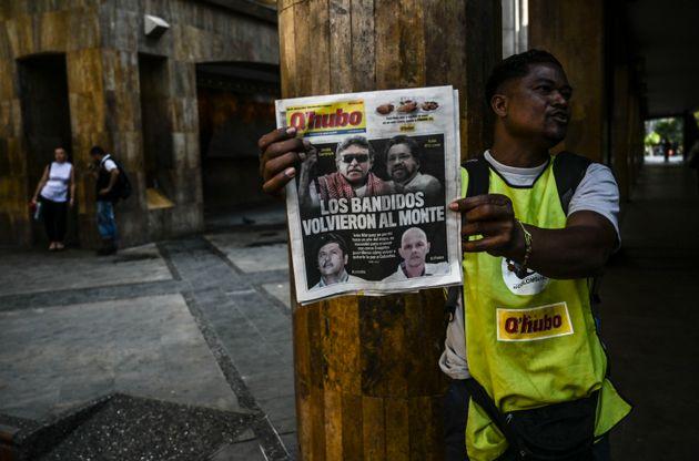 H Κολομβία κατηγορεί τον Μαδούρο για υποστήριξη στους