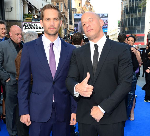 Paul Walker and Vin Diesel.