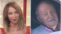 El 'palo' de María Patiño al rey Juan Carlos en 'Socialité'
