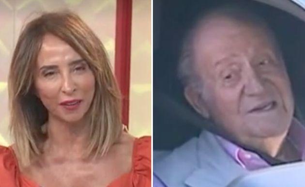 María Patiño y el rey Juan Carlos