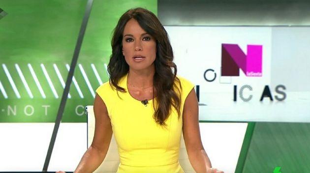 Cristina Saavedra, presentadora de 'LaSexta