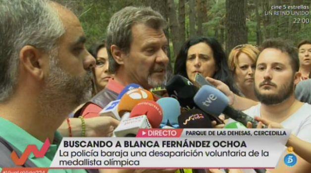 Pedro Herranz, jefe del operativo de búsqueda de la Policía