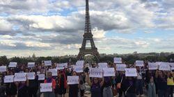 Un rassemblement à Paris pour dénoncer le 100e féminicide de