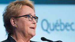 Inquiète, Pauline Marois veut se poser en ambassadrice de la langue