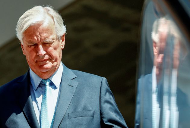 Le négociateur de l'UE sur le Brexit Michel Barnier, ici à Bruxelles le 22 août 2019,...