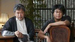 봉준호와 고레에다 히로카즈의 대담 프로그램이 일본에서