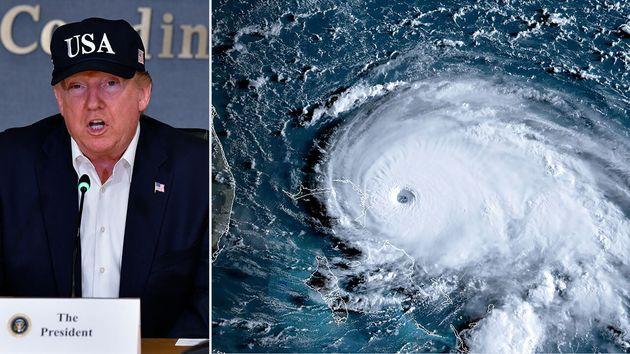 Les États-Unis et leur président Donald Trump s'apprêtent à avoir arriver sur les côtes de Floride l'ouragan...