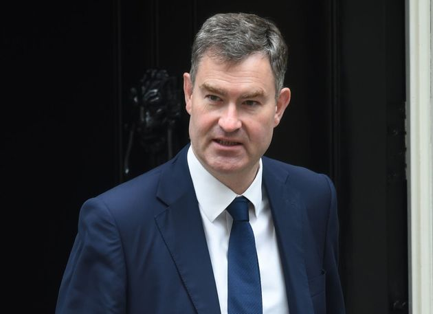 Justice Secretary David Gauke leaves following a cabinet meeting at 10 Downing Street,