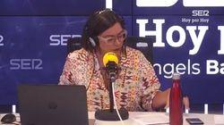 Así se ha estrenado Àngels Barceló en 'Hoy por hoy' (Cadena