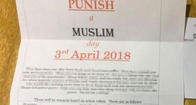 Man Sentenced For Sending 'Punish A Muslim' Letters