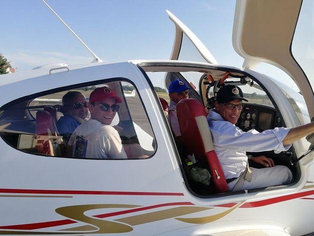 Équipage marocain centenaire du premier vol de